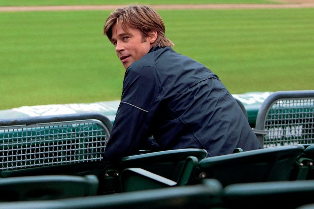 Brad Pitt ve filmu Moneyball